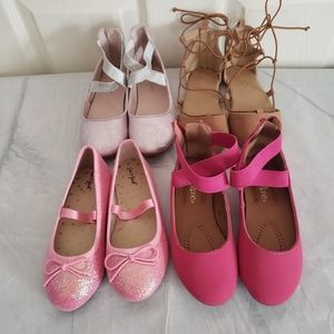 Girls Shoes Lot Size 10, 11